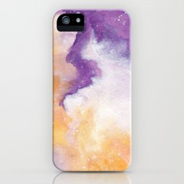 Spooky Galaxy iPhone Case