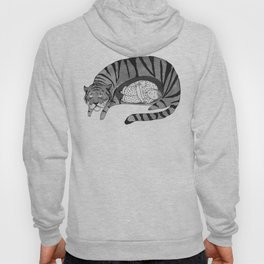 Big Cat Nap  Hoody