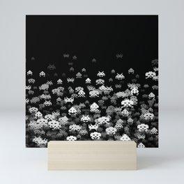 Invaded BLACK Mini Art Print