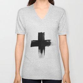 Cross Unisex V-Neck