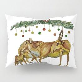 Saiga Antelope Pillow Sham