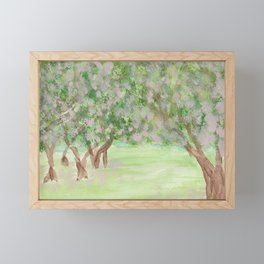 Apple Blossom Time Framed Mini Art Print