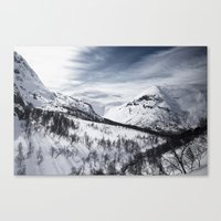 norway Canvas Prints featuring Norway by Dustin Tan