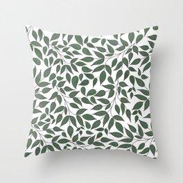 Foliage. Throw Pillow