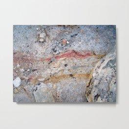 Mineral Vein Metal Print