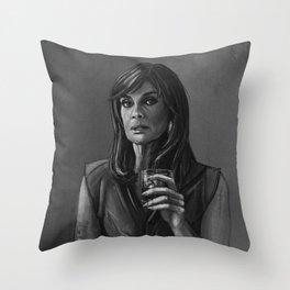 DALLAS - SUE ELLEN EWING Throw Pillow