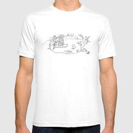 Le château de ma mère T-shirt