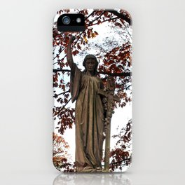 My Lady Among the Leaves iPhone Case