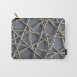Ropes Abstract Pattern Carry-All Pouch