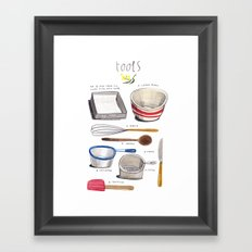 lamingtons part 3: tools Framed Art Print