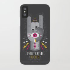 Frustrated Rocker iPhone X Slim Case