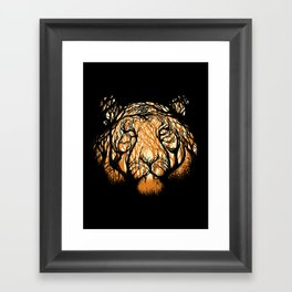 Hidden Hunter Framed Art Print
