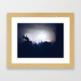 Concert View Framed Art Print