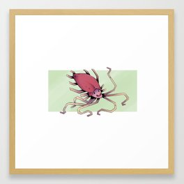 French Fries Squid Framed Art Print