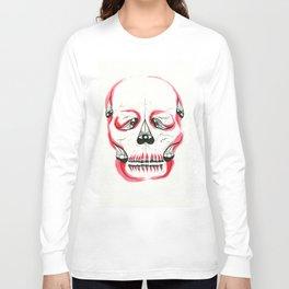Desert Pea Skull - Soul Discovery Long Sleeve T-shirt