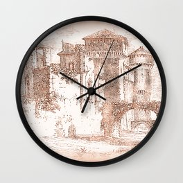 Soncino Castle Wall Clock