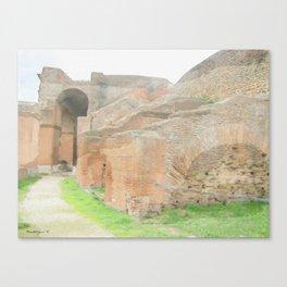 Ostia Antiqua Theatre - Italy Canvas Print