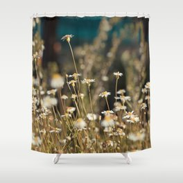 Field of Daisies - Floral Photography #Society6 Shower Curtain