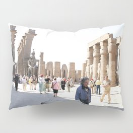 Temple of Luxor, no. 27 Pillow Sham