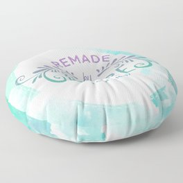 Being Remade - Mermaid Color Version Floor Pillow