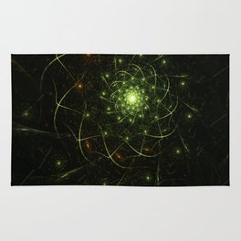 Kaos Entwined Flame Fractal Rug