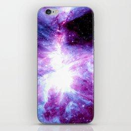 Orion Nebula Purple Periwinkle Blue Galaxy iPhone Skin