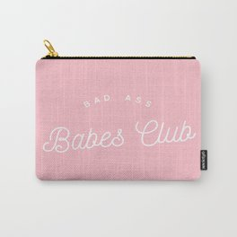 BADASS BABES CLUB PINK Carry-All Pouch