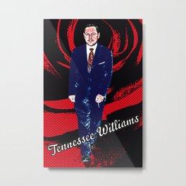 Tennessee Williams Metal Print