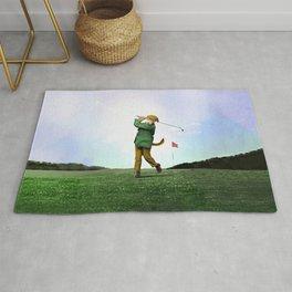 Sir Terrance Terrier Golfing Rug