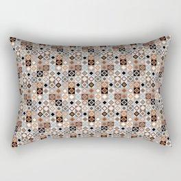 Kalahari Beach Diamond Check Rectangular Pillow