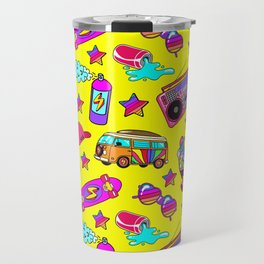 Old-times fun / Yellow Travel Mug