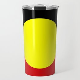 Flag of the australian Aboriginal Travel Mug