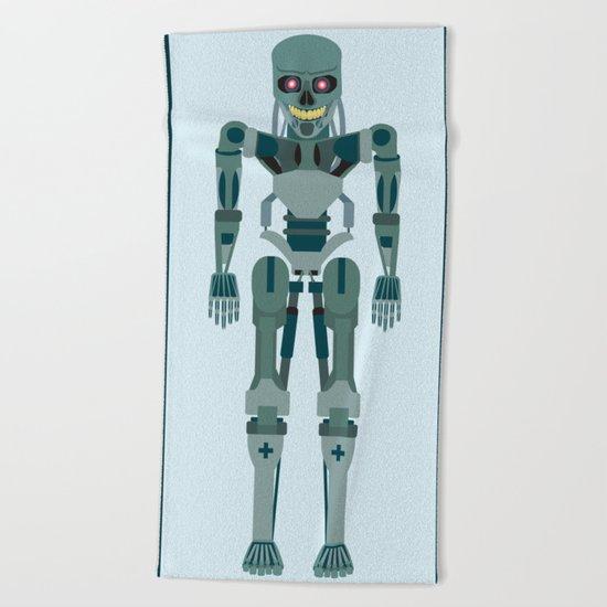 Terminator Vector Beach Towel