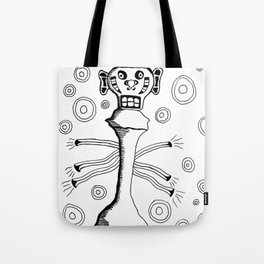 Check Mate Tote Bag