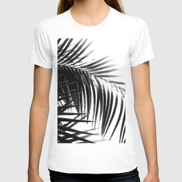 Palm Leaves Black & White Vibes #3 #tropical #decor #art #society6 T-shirt