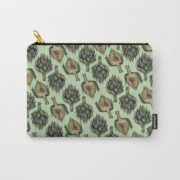 Artichoke Pattern Carry-All Pouch