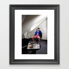 Morning wish Framed Art Print