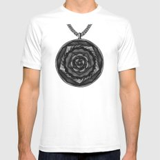 Spirobling VII Mens Fitted Tee White MEDIUM
