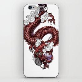 Japanese Dragon 竜 iPhone Skin