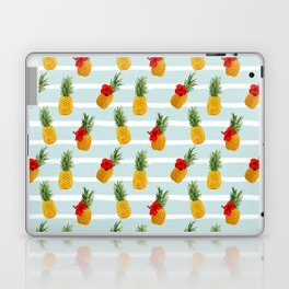 Hawaiian Summer Pineapple Seamless Pattern Laptop & iPad Skin