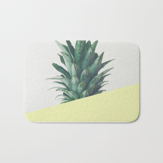 Pineapple Dip III Bath Mat