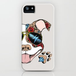 Pits & Giggles iPhone Case