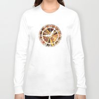 clockwork Long Sleeve T-shirts featuring CLOCKWORK by Stephanie Lue