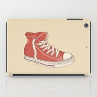 old school iPad Cases featuring Old School by Terry Fan