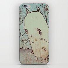 Ghost Cat iPhone Skin