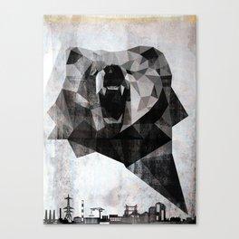 Urban Bear Canvas Print