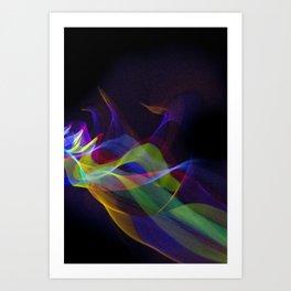 Fabric of Light VI Art Print