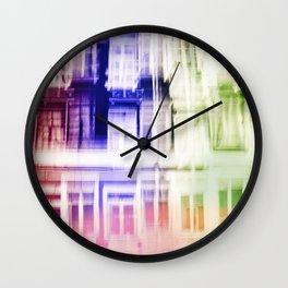 Color windows Wall Clock