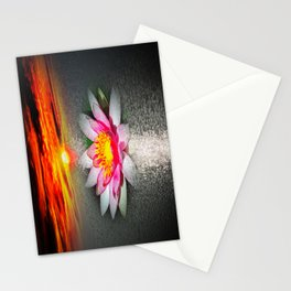 Wellness Water Lily 5 Stationery Cards