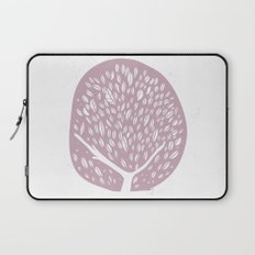 Tree of life - lilac Laptop Sleeve